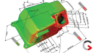 3D Inspection services for Industrial Parts - Jesse Garant Metrology Center