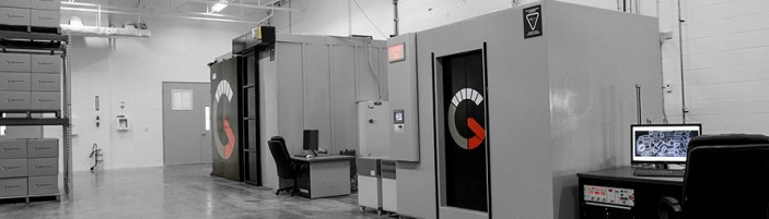 Jesse Garant Metrology Center - an Industrial Parts Testing Lab